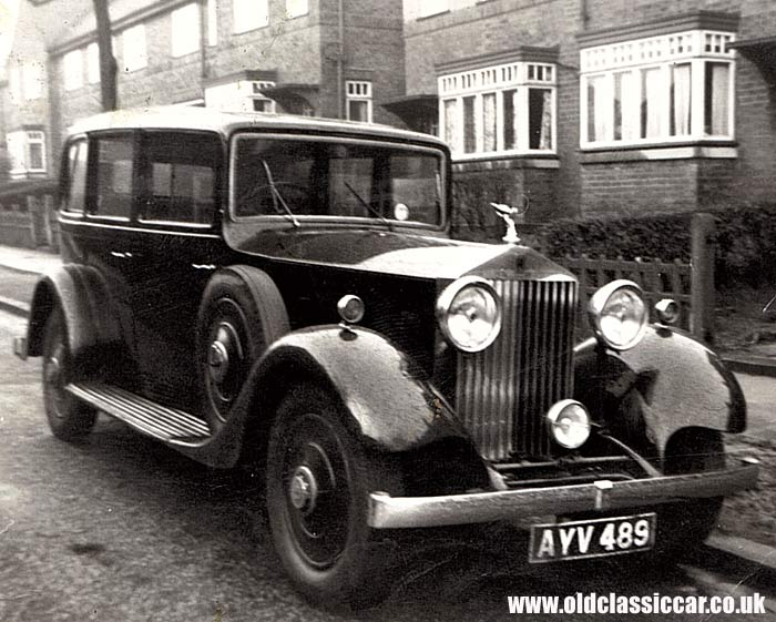 A Rolls-Royce 20/25 of the 1930s