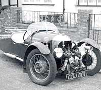 Three-wheel Morgan from 1936