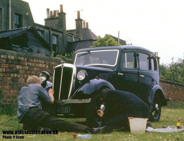 Working on the Morris 8 Series 1