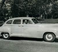 A 1948 DeSoto in New York