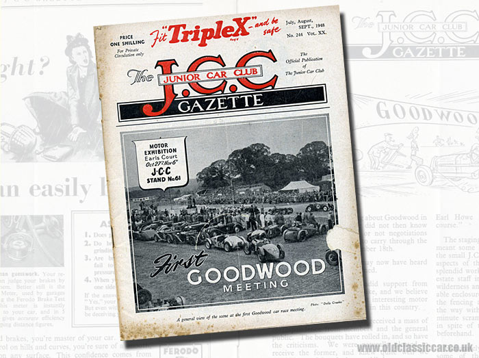 Goodwood motor racing in 1948