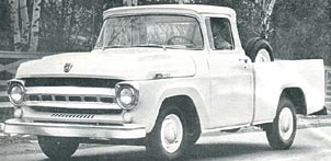1957 Ford pickup truck