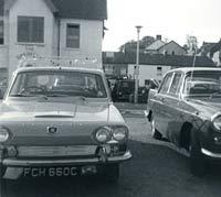 A classic Triumph 2000 Mk1 car