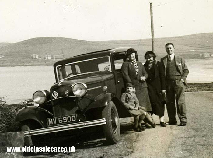1932 Ford at Croyde Bay