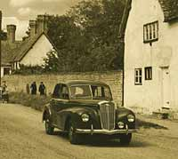 Wolseley 4/50 car