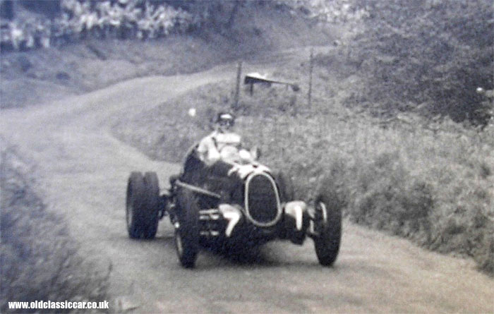 Alfa Romeo at a post-war hillclimb