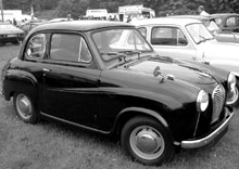 An early Austin A30 at a show