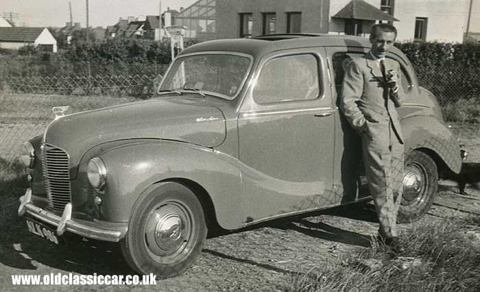 The austin a40 devon by austin of england for 1948 austin devon 4 door