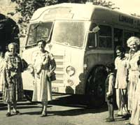 The Indiaman AEC bus service