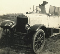 Final photo of the Albert motor-car