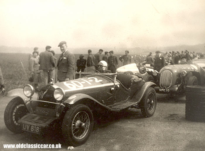1929 Alfa Romeo 6C at the Gravesend Speed Trial