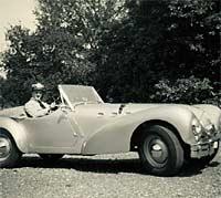 An Allard K2 car