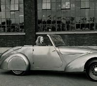The Allard as a tourer
