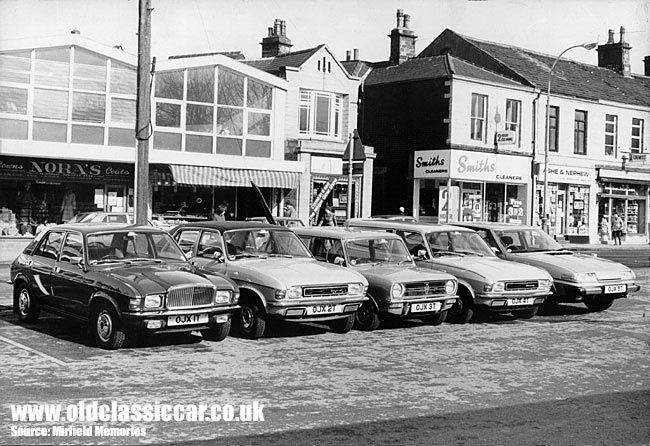 Austin Allegro saloon and estate