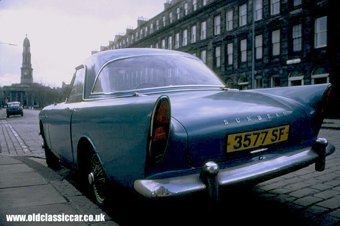 Sunbeam Alpine S2 sports car