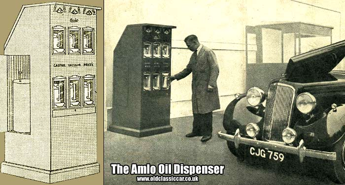 The AMLO oil dispensing machine