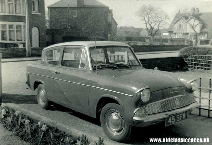 Anglia 105E - a British car from the 1960s. & Road u0026 race-prepared Ford Anglia 105Es. markmcfarlin.com