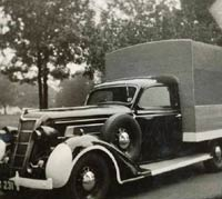 1935 Chrysler Airstream used by the ARP