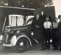 ARP ambulance in WW2