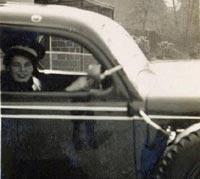 Lady ambulance driver