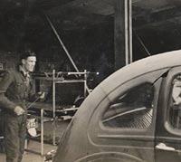 Standard Flying 12 car in the war