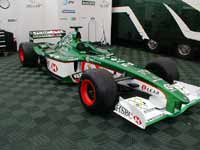 Jaguar R1 F1 car