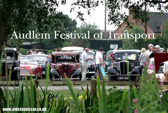 Transport Festival held in Audlem