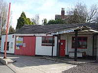 An old service station due to be demolished