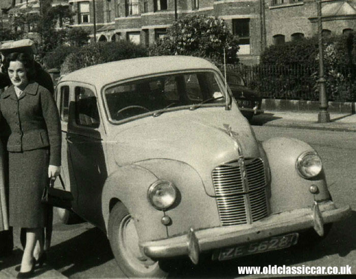The Austin A40 Devon By Austin Of England