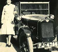 Front view of an Austin 7 Chummy