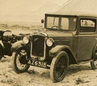 1930/1931 Austin Seven RL box saloon