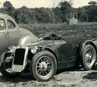 An Austin 7 Special car