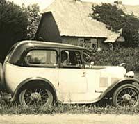 Vintage Austin 7 car with Swallow coachwork