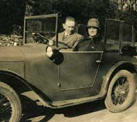 An Austin 7 Chummy and its owners