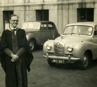 Austin Somerset and a Mk6 Bentley