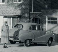 Austin A40 in Kent