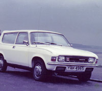 Austin Allegro estate in white