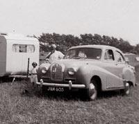 A 1952 Austin Somerset