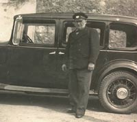 The Austin with its chauffeur