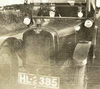 Another vintage Austin 7 car