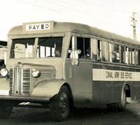 1940s Austin bus