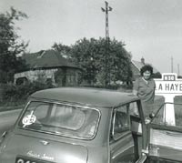 Mk1 Austin Seven Mini in France