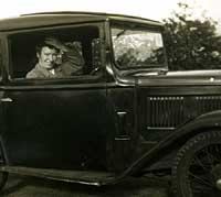 A wide-door Austin 7 car
