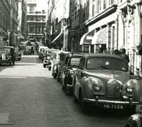 A40 Somerset convertible in London, September 1954
