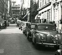 A40 Somerset convertible in London, September 1954