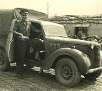 Austin 10 Tilly during WW2