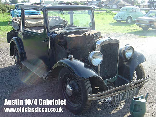 Austin Ten cabrio seen running for the first time in 35+ years