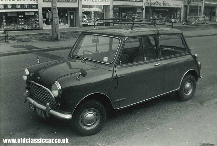 Mk1 Austin Mini circa 1963.
