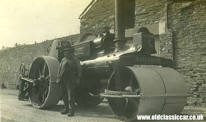 Aveling and Porter steam roller