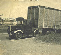 Beardmore removals lorry
